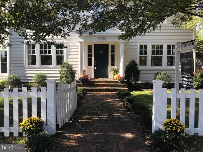 Chevy Chase Single Family Home For Sale: 6300 Brookville Road