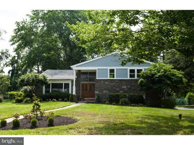Bala Cynwyd Single Family Home For Sale: 1124 Sandringham Road
