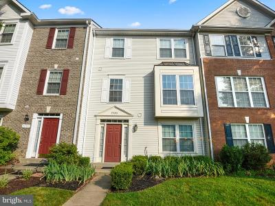 Montgomery Village Townhouse For Sale: 7753 Heritage Farm Drive
