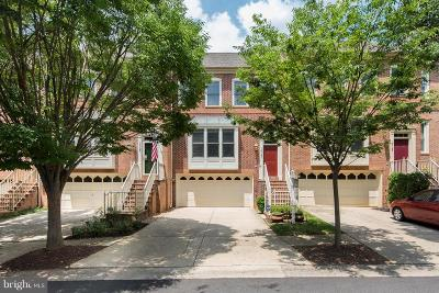 Rockville Townhouse For Sale: 10107 Sterling Terrace