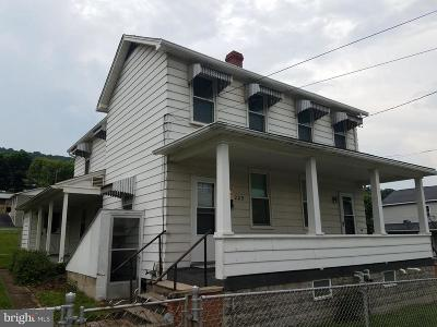 Westernport Single Family Home For Sale: 209 Walnut Street