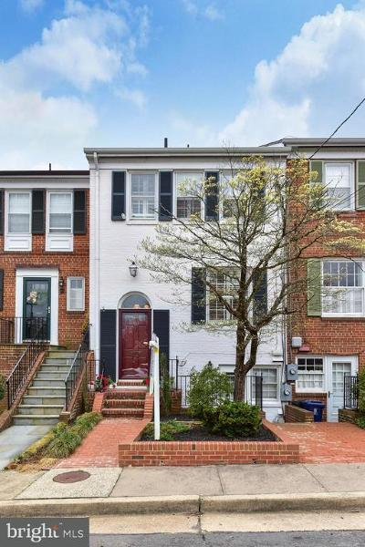 Alexandria Townhouse For Sale: 204 Green Street