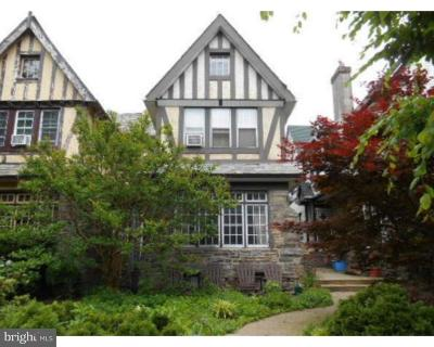 Philadelphia Single Family Home For Sale: 432 Glen Echo Road