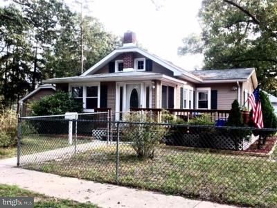 Absecon Single Family Home For Sale: 1 Oak Circle