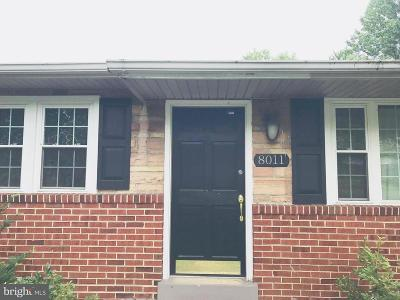 District Heights Single Family Home For Sale: 8011 Boundary Drive