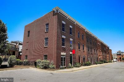 Baltimore City Townhouse For Sale: 1516 Stack Street