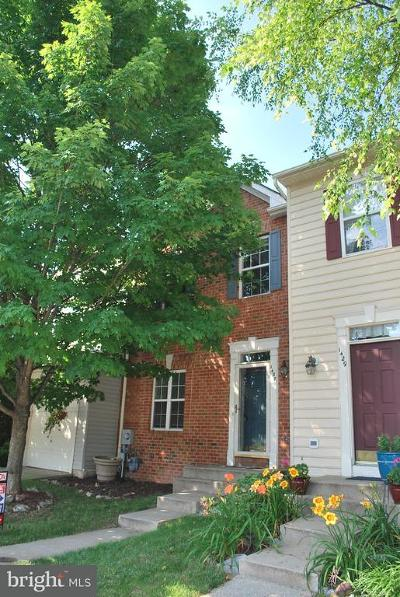 Mount Airy Townhouse For Sale: 1427 Searchlight Way