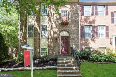 Falls Church Townhouse For Sale: 3114 Black Hickory Drive