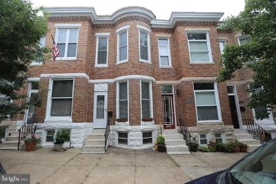 Federal Hill Townhouse For Sale: 1625 Jackson Street