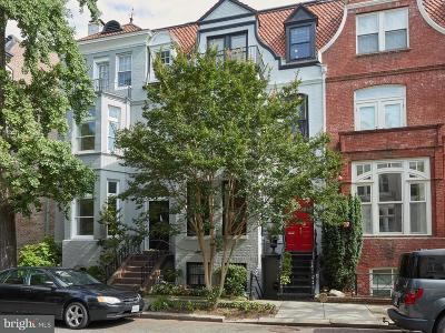 Washington DC Townhouse For Sale: $2,325,000