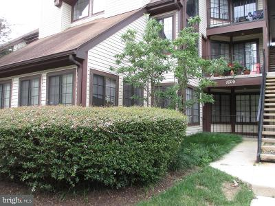 Crofton Condo For Sale: 1609 Airy Hill Court #8A