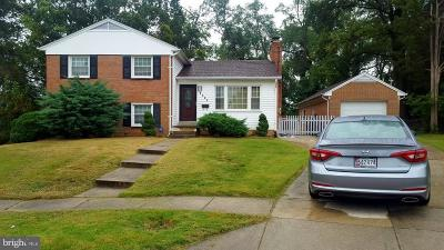 Oxon Hill Single Family Home For Sale: 7314 Cloverdale Drive