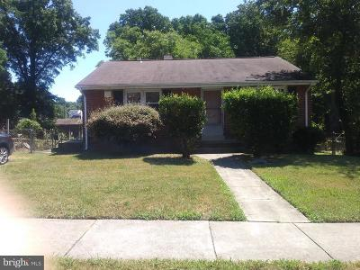 Capitol Heights Single Family Home For Sale: 115 E. Mill Avenue