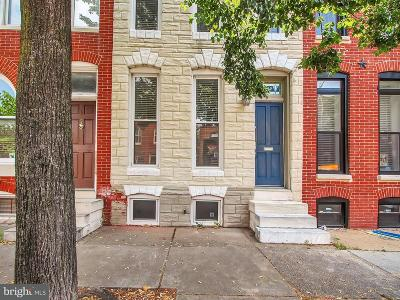 Federal Hill Townhouse For Sale: 1029 Hanover Street S