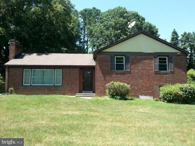 Landover Single Family Home For Sale: 7510 Willow Hill Drive