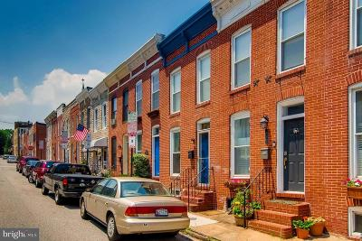 Federal Hill Townhouse For Sale: 436 Clement Street E