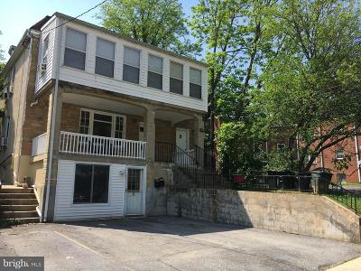 Hyattsville Rental For Rent: 6120 41st Avenue #1