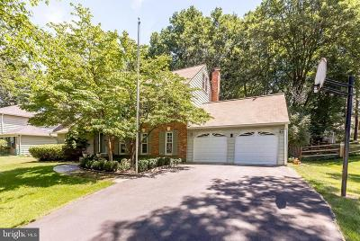Rockville Single Family Home For Sale: 16509 George Washington Drive