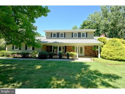Princeton Junction Single Family Home For Sale: 4 Stonelea Drive