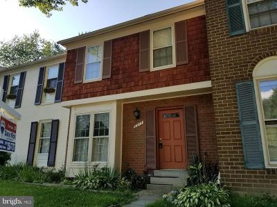 Montgomery Village Townhouse For Sale: 9217 Frostburg Way