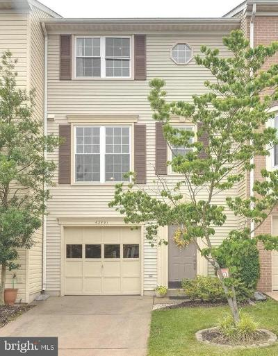 Ashburn Farm Townhouse For Sale: 43491 Blacksmith Square