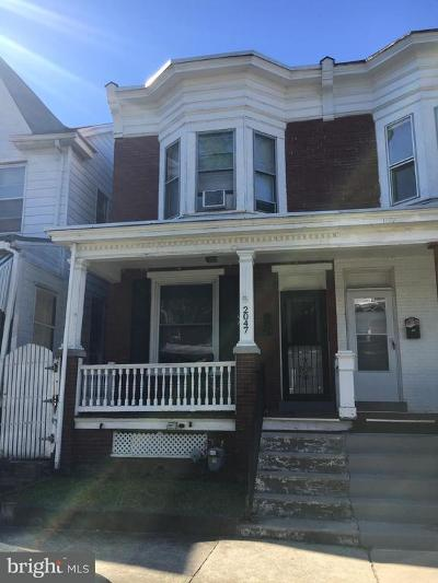 Harrisburg Townhouse For Sale: 2047 Swatara Street