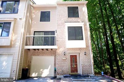 Rockville Townhouse For Sale: 10601 Mist Haven Terrace