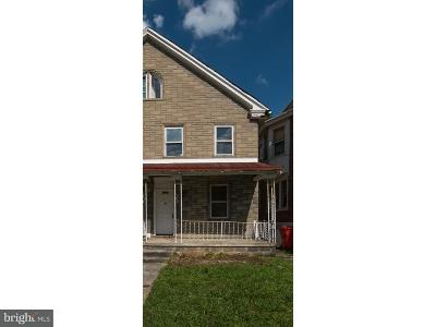 Norristown Single Family Home For Sale: 11061/2 Swede Street