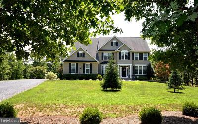 Frederick County Single Family Home For Sale: 201 Hammack Lane