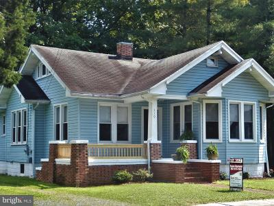 Selbyville Single Family Home For Sale: 110 W Church Street