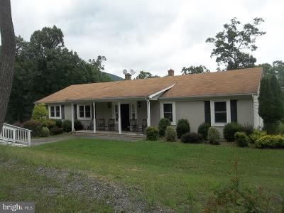 Shenandoah County Single Family Home For Sale: 1174 Narrow Path