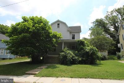 Baltimore Single Family Home Active Under Contract: 5015 Catalpha Road