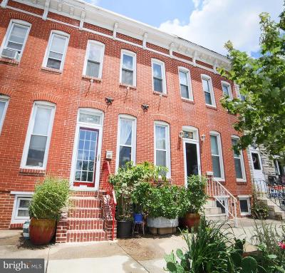Baltimore City Townhouse For Sale: 1414 Fort Avenue
