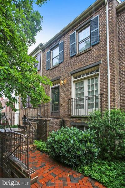 Alexandria City, Arlington County Townhouse For Sale: 1222 Michigan Court