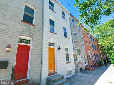 Fells Poi Nt, Fells Point, Fells Point/Hopkins, Fells Pt./Hopkins Townhouse For Sale: 2019 Bank Street