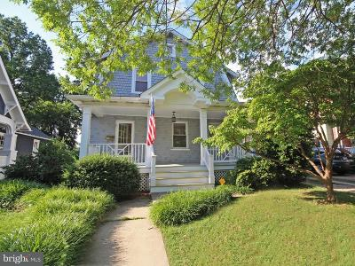 Alexandria, Arlington Single Family Home For Sale: 18 Cedar Street W