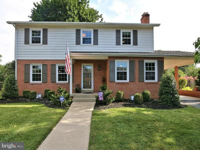 Frederick Single Family Home For Sale: 1611 Rock Creek Drive