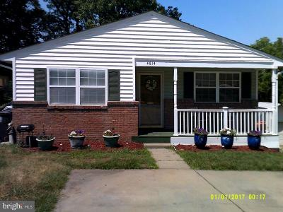 Lanham Single Family Home For Sale: 4814 Jefferson Street