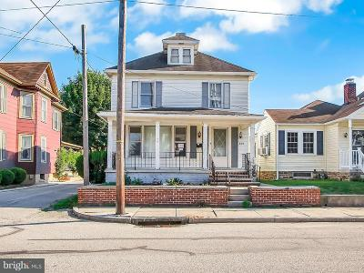 Hanover Single Family Home Active Under Contract: 309 Fulton Street