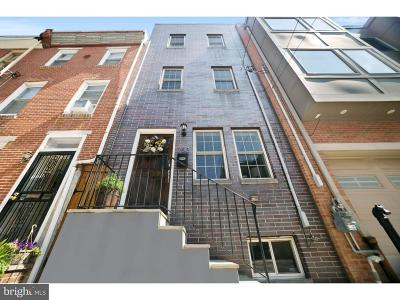 Graduate Hospital Townhouse For Sale: 753 S Chadwick Street