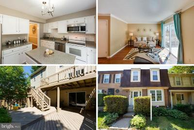 Springfield Townhouse For Sale: 8835 Winding Hollow Way