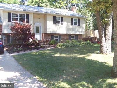 Pasadena Single Family Home For Sale: 201 Hickory Point Road