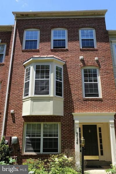 Gaithersburg Townhouse Active Under Contract: 9724 Athletic Way
