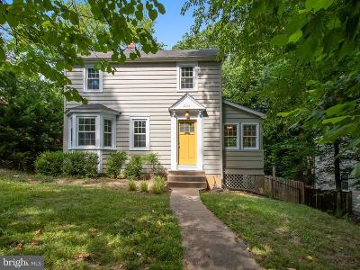 Takoma Park Single Family Home For Sale: 8018 Maple Avenue