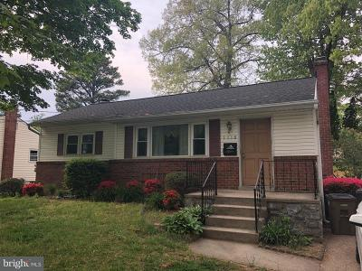 Rockville Single Family Home For Sale: 1116 Maple Avenue