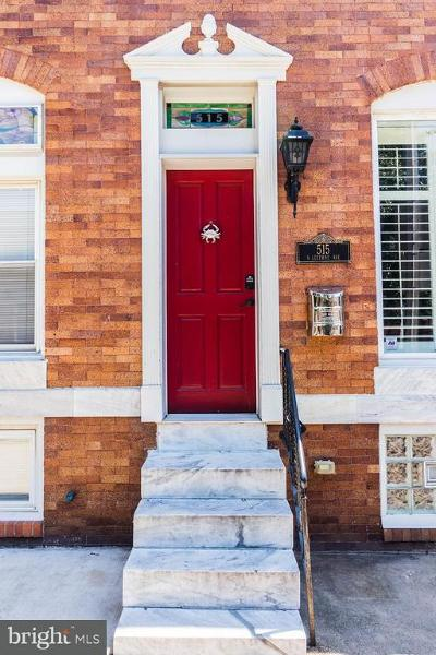 Baltimore Townhouse For Sale: 515 Luzerne Avenue S