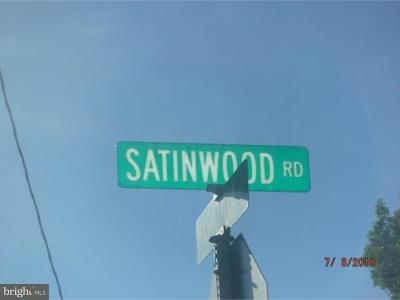 Millville Residential Lots & Land For Sale: 344 Satinwood Road