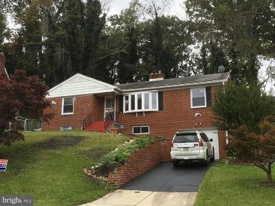 Temple Hills Single Family Home For Sale: 3501 27th Avenue