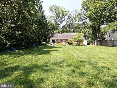 Falls Church Residential Lots & Land Under Contract: 7224 Tod Street