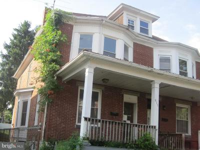 Hagerstown Single Family Home For Sale: 811 Mulberry Avenue